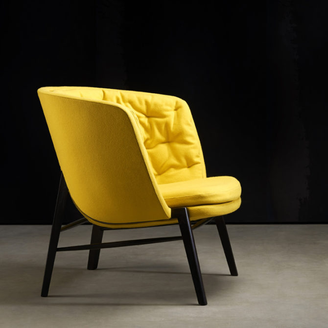 Extreme High Back Contemporary Lounge Chair Ambience Dor 233