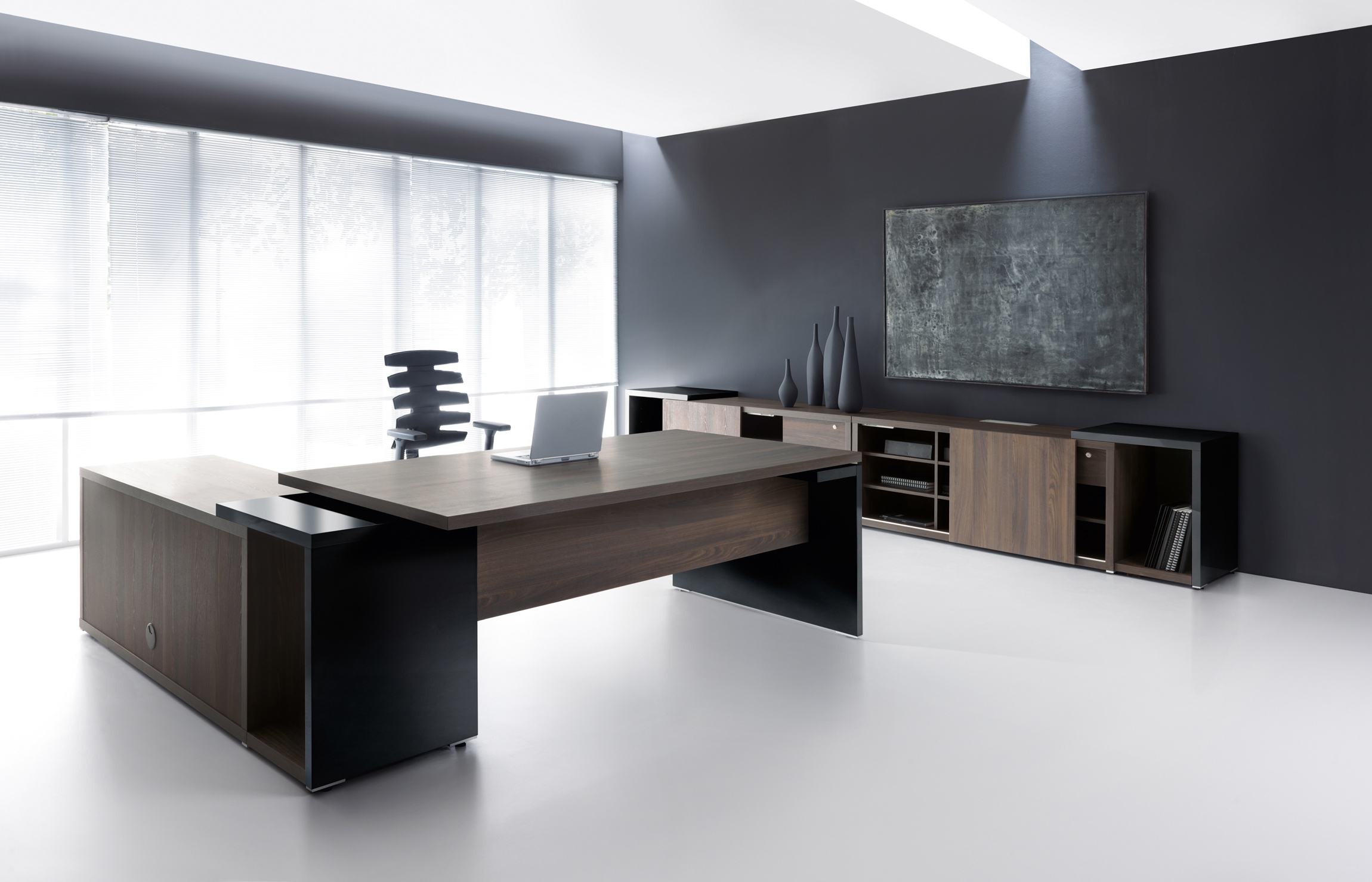 desks executive designer modern apres from han furniture desk
