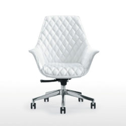 White Diamond Conference Chair