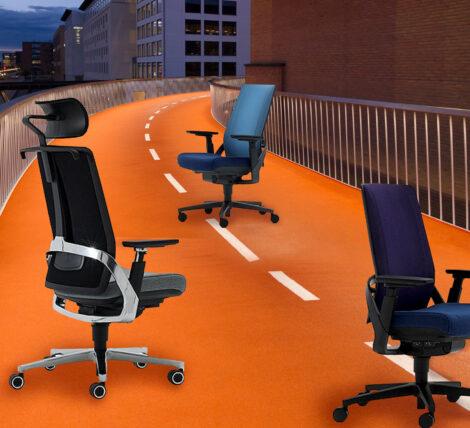 Alpha Hybrid Desk Chair