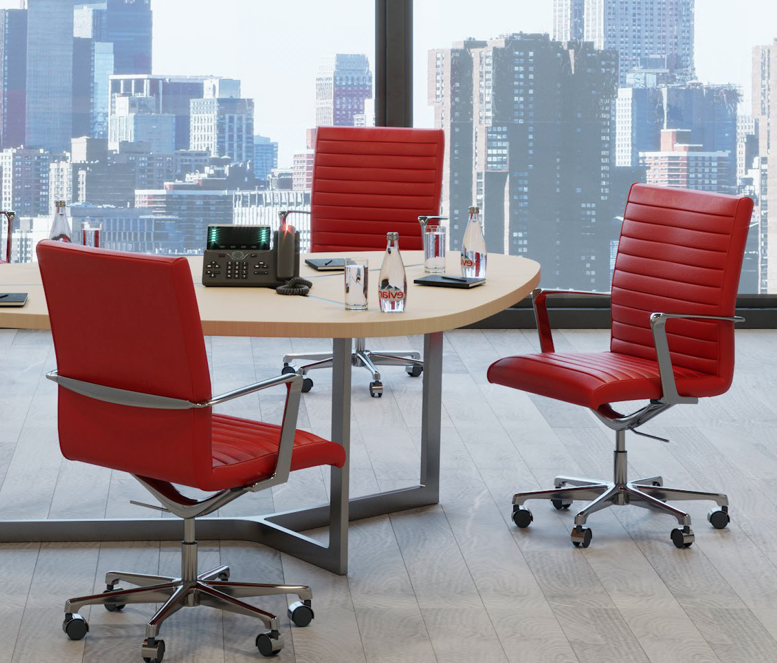 Classic-Power-Chairs-in-Red