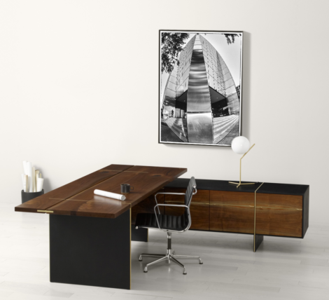 luxury wood executive home office high end desk