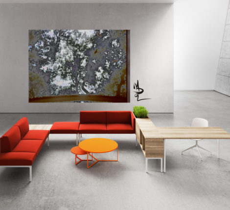 The Desert Landscape Modular Bench Lounge is a must have for modern offices open spaces and break out areas in 2020