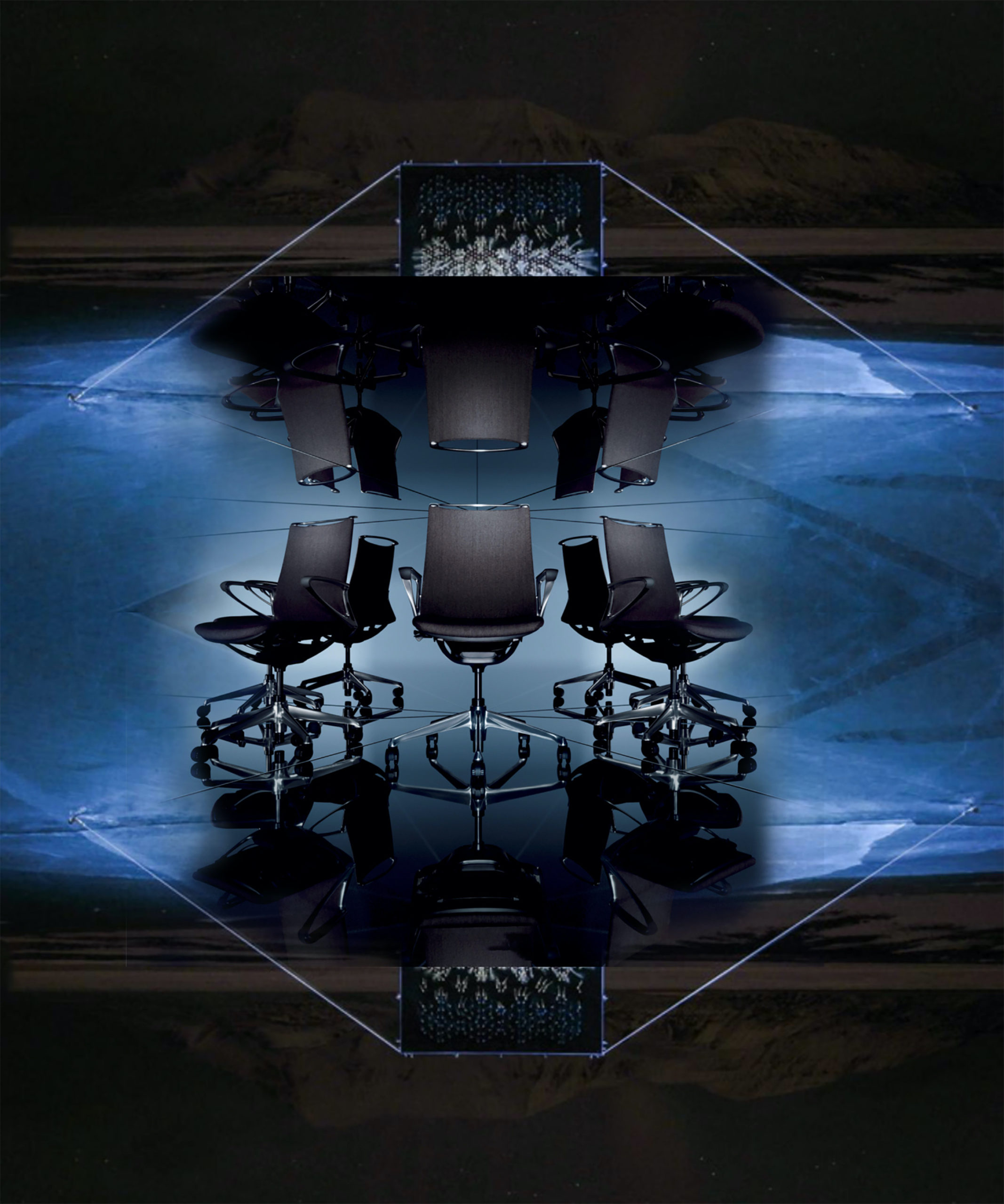 New Modern Luxury Larkspur Conference Chairs